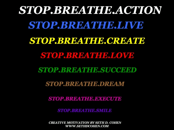 Stop Breathe Action