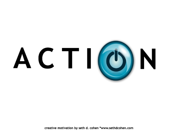 Power on your action by Seth D Cohen for stop.breathe.action