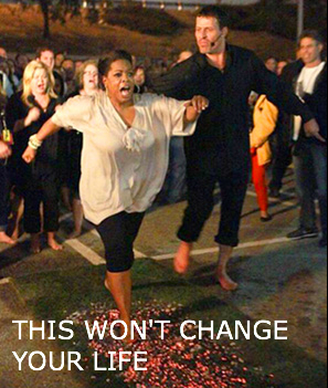 Oprah and Tony Robbins Fire Walking