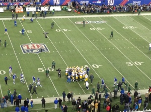 Green Bay Packers Huddled Up